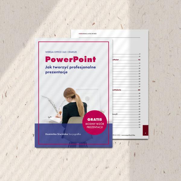 okładka e-book jak tworzyć profesjonalne prezentacje PowerPoint