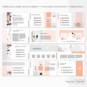 Prezentacja pastelowa sklep online