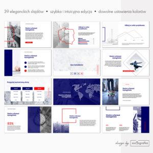 szablon eleganckiej prezentacji powerpoint