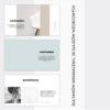 modny wzór prosta prezentacja powerpoint