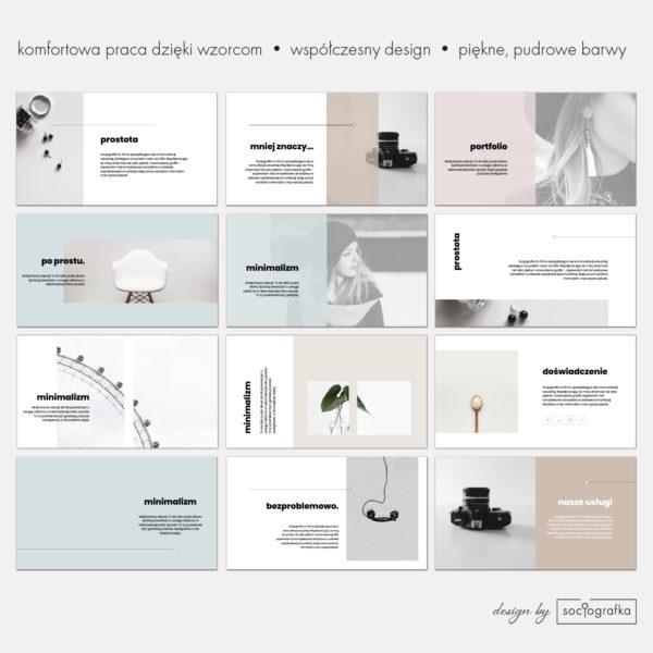 prosta prezentacja powerpoint zestaw slajdów