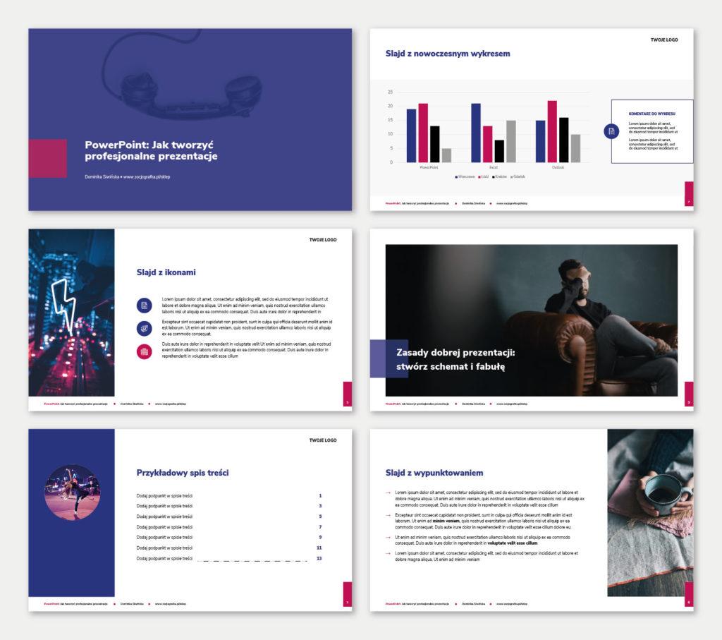 gratis do e-booka przykłady jak tworzyć profesjonalne prezentacje PowerPoint